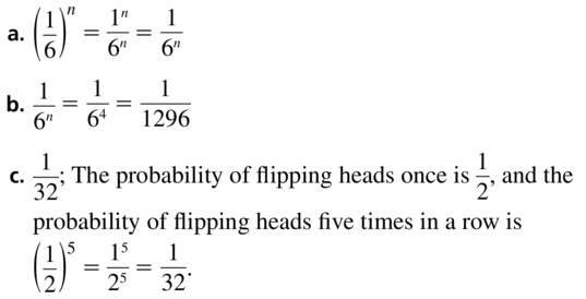 Big Ideas Math Algebra 1 Answers Chapter 6 Exponential Functions and Sequences 6.1 Question 63