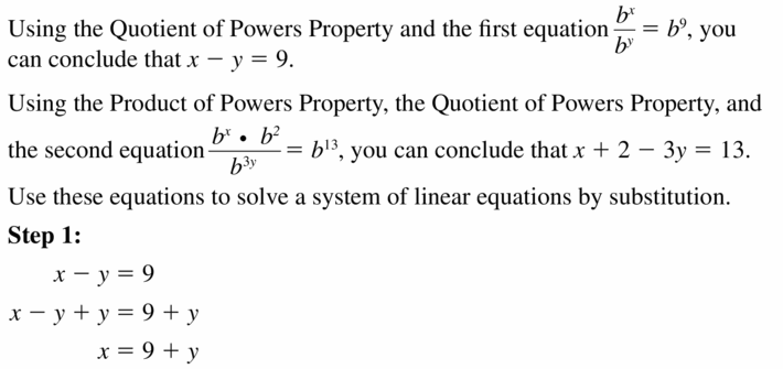Big Ideas Math Algebra 1 Answers Chapter 6 Exponential Functions and Sequences 6.1 Question 65.1