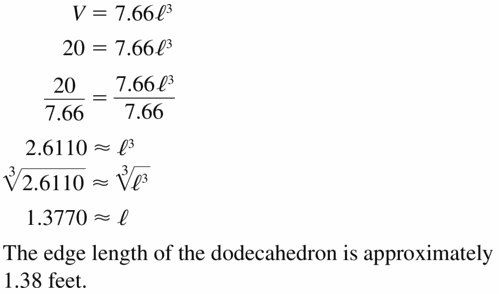 Big Ideas Math Algebra 1 Answers Chapter 6 Exponential Functions and Sequences 6.2 Question 49