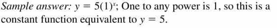 Big Ideas Math Algebra 1 Answers Chapter 6 Exponential Functions and Sequences 6.4 Question 69