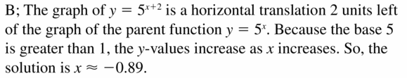 Big Ideas Math Algebra 1 Answers Chapter 6 Exponential Functions and Sequences 6.5 Question 23