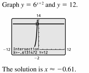 Big Ideas Math Algebra 1 Answers Chapter 6 Exponential Functions and Sequences 6.5 Question 25