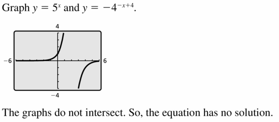 Big Ideas Math Algebra 1 Answers Chapter 6 Exponential Functions and Sequences 6.5 Question 33