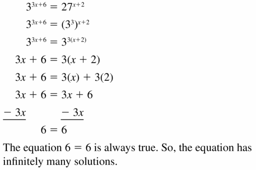 Big Ideas Math Algebra 1 Answers Chapter 6 Exponential Functions and Sequences 6.5 Question 43