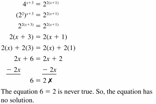 Big Ideas Math Algebra 1 Answers Chapter 6 Exponential Functions and Sequences 6.5 Question 45