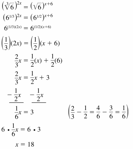 Big Ideas Math Algebra 1 Answers Chapter 6 Exponential Functions and Sequences 6.5 Question 57