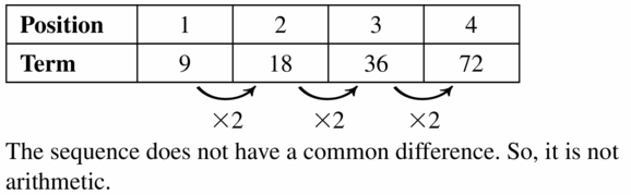 Big Ideas Math Algebra 1 Answers Chapter 6 Exponential Functions and Sequences 6.5 Question 61