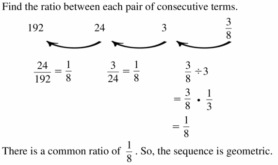 Big Ideas Math Algebra 1 Answers Chapter 6 Exponential Functions and Sequences 6.6 Question 13