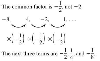 Big Ideas Math Algebra 1 Answers Chapter 6 Exponential Functions and Sequences 6.6 Question 35