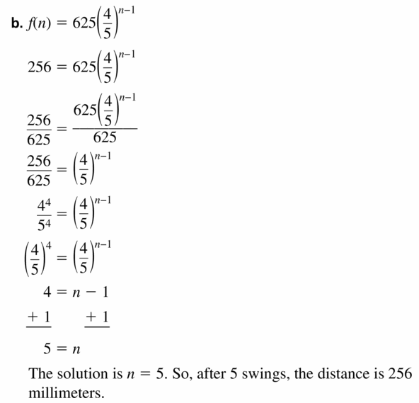 Big Ideas Math Algebra 1 Answers Chapter 6 Exponential Functions and Sequences 6.6 Question 37.2