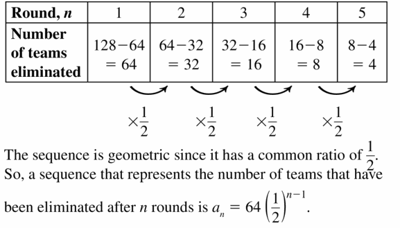 Big Ideas Math Algebra 1 Answers Chapter 6 Exponential Functions and Sequences 6.6 Question 41