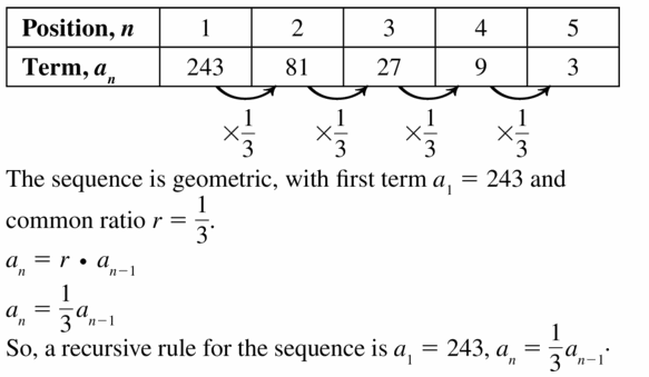 Big Ideas Math Algebra 1 Answers Chapter 6 Exponential Functions and Sequences 6.7 Question 15