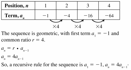 Big Ideas Math Algebra 1 Answers Chapter 6 Exponential Functions and Sequences 6.7 Question 19