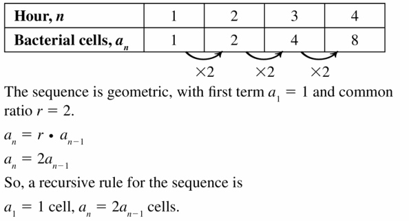 Big Ideas Math Algebra 1 Answers Chapter 6 Exponential Functions and Sequences 6.7 Question 21