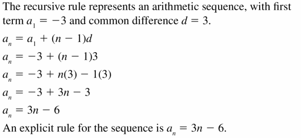 Big Ideas Math Algebra 1 Answers Chapter 6 Exponential Functions and Sequences 6.7 Question 23