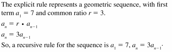 Big Ideas Math Algebra 1 Answers Chapter 6 Exponential Functions and Sequences 6.7 Question 29