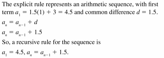 Big Ideas Math Algebra 1 Answers Chapter 6 Exponential Functions and Sequences 6.7 Question 31