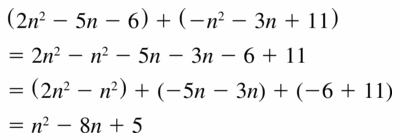 Big Ideas Math Algebra 1 Answers Chapter 7 Polynomial Equations and Factoring 7.1 Question 25