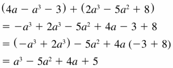 Big Ideas Math Algebra 1 Answers Chapter 7 Polynomial Equations and Factoring 7.1 Question 29