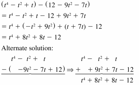 Big Ideas Math Algebra 1 Answers Chapter 7 Polynomial Equations and Factoring 7.1 Question 37