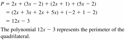 Big Ideas Math Algebra 1 Answers Chapter 7 Polynomial Equations and Factoring 7.1 Question 55