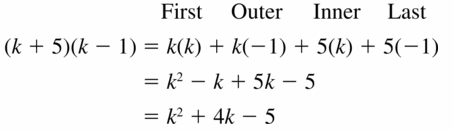 Big Ideas Math Algebra 1 Answers Chapter 7 Polynomial Equations and Factoring 7.2 Question 23