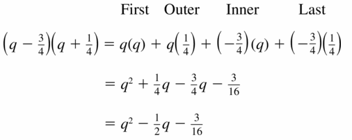 Big Ideas Math Algebra 1 Answers Chapter 7 Polynomial Equations and Factoring 7.2 Question 25