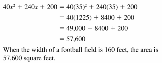 Big Ideas Math Algebra 1 Answers Chapter 7 Polynomial Equations and Factoring 7.2 Question 43.2