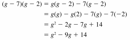 Big Ideas Math Algebra 1 Answers Chapter 7 Polynomial Equations and Factoring 7.2 Question 7