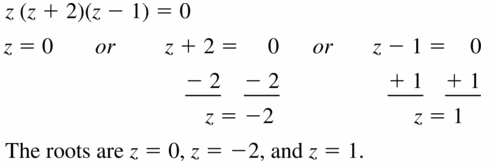 Big Ideas Math Algebra 1 Answers Chapter 7 Polynomial Equations and Factoring 7.4 Question 15