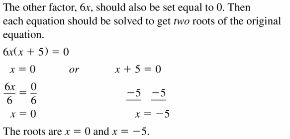Big Ideas Math Algebra 1 Answers Chapter 7 Polynomial Equations and Factoring 7.4 Question 37