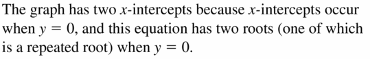 Big Ideas Math Algebra 1 Answers Chapter 7 Polynomial Equations and Factoring 7.4 Question 43