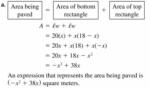 Big Ideas Math Algebra 1 Answers Chapter 7 Polynomial Equations and Factoring 7.5 Question 47.1