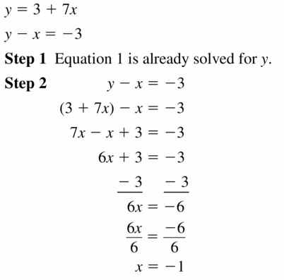 Big Ideas Math Algebra 1 Answers Chapter 7 Polynomial Equations and Factoring 7.6 Question 53.1