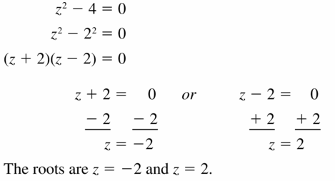 Big Ideas Math Algebra 1 Answers Chapter 7 Polynomial Equations and Factoring 7.7 Question 27