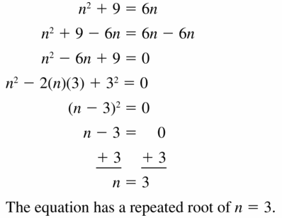 Big Ideas Math Algebra 1 Answers Chapter 7 Polynomial Equations and Factoring 7.7 Question 31