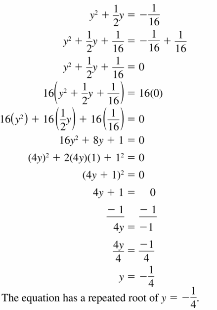 Big Ideas Math Algebra 1 Answers Chapter 7 Polynomial Equations and Factoring 7.7 Question 33