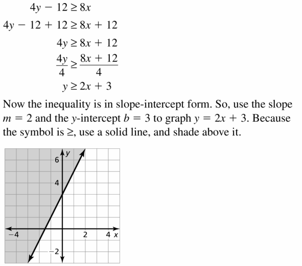 Big Ideas Math Algebra 1 Answers Chapter 7 Polynomial Equations and Factoring 7.7 Question 55