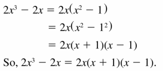 Big Ideas Math Algebra 1 Answers Chapter 7 Polynomial Equations and Factoring 7.8 Question 11