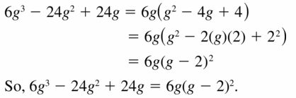 Big Ideas Math Algebra 1 Answers Chapter 7 Polynomial Equations and Factoring 7.8 Question 15
