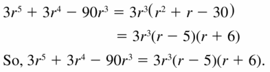 Big Ideas Math Algebra 1 Answers Chapter 7 Polynomial Equations and Factoring 7.8 Question 17