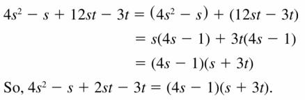 Big Ideas Math Algebra 1 Answers Chapter 7 Polynomial Equations and Factoring 7.8 Question 39