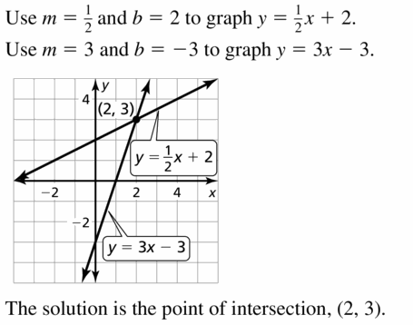 Big Ideas Math Algebra 1 Answers Chapter 7 Polynomial Equations and Factoring 7.8 Question 51