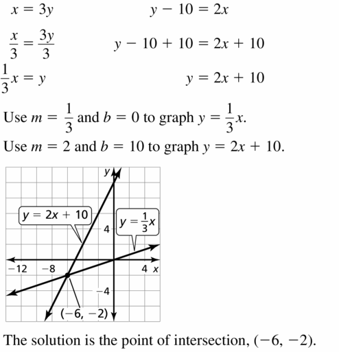 Big Ideas Math Algebra 1 Answers Chapter 7 Polynomial Equations and Factoring 7.8 Question 53