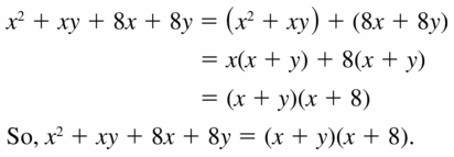 Big Ideas Math Algebra 1 Answers Chapter 7 Polynomial Equations and Factoring 7.8 Question 7