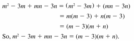 Big Ideas Math Algebra 1 Answers Chapter 7 Polynomial Equations and Factoring 7.8 Question 9