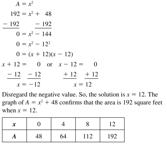 Big Ideas Math Algebra 1 Answers Chapter 8 Graphing Quadratic Functions 8.2 a 35.1