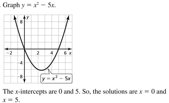 Big Ideas Math Algebra 1 Answers Chapter 9 Solving Quadratic Equations 9.2 a 13