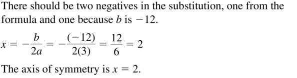 Big Ideas Math Algebra 1 Solutions Chapter 8 Graphing Quadratic Functions 8.3 a 19