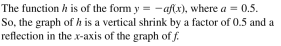 Big Ideas Math Algebra 1 Solutions Chapter 8 Graphing Quadratic Functions 8.3 a 51